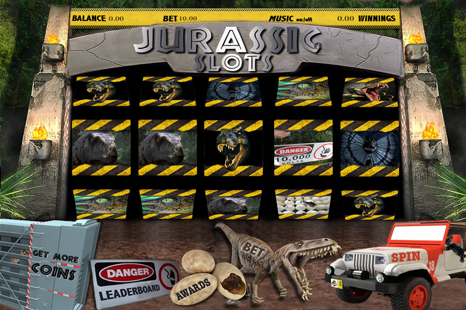 Screenshot Jurassic Slots 3D!